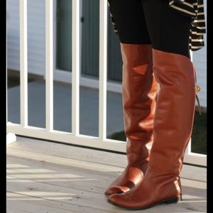 Coach Shoes - Leather Coach Cheyenne over the knee boot (11)